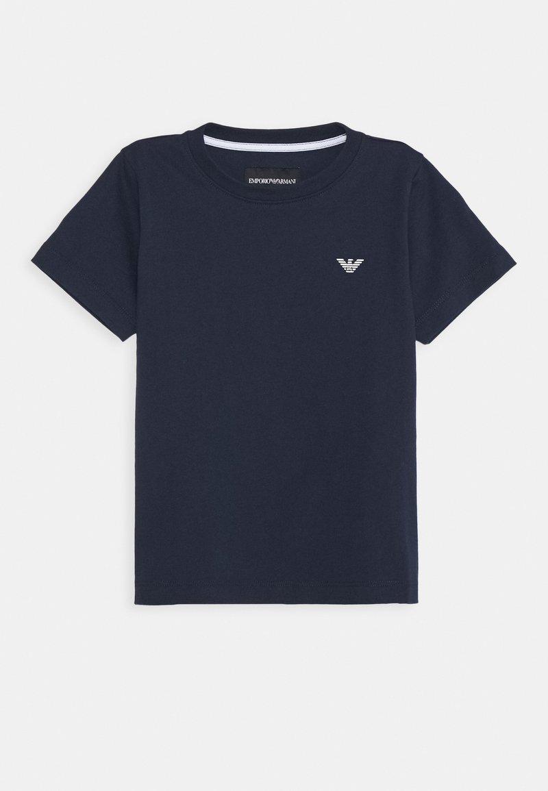 Emporio Armani - Jednoduché triko - blue