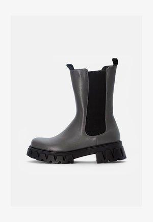 SENTRY - Kovbojské/motorkářské boty - grey