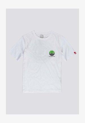 Print T-shirt - optic white