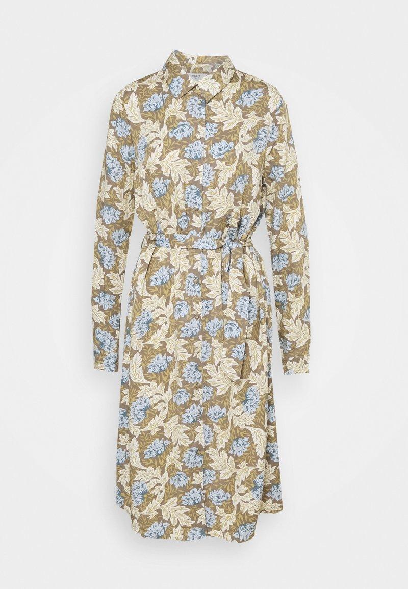 Object Tall - OBJANAIS SHIRT DRESS - Shirt dress - fossil