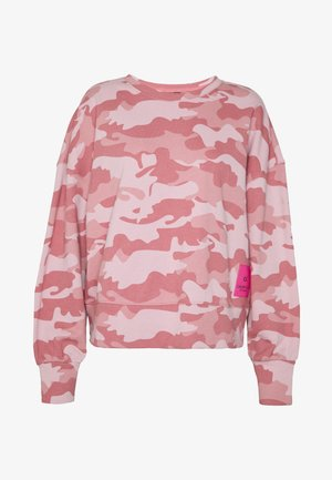 CROPPED PULLOVER - Sweatshirt - pink