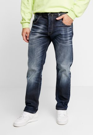 JJICHRIS JJHALO - Relaxed fit -farkut - blue denim