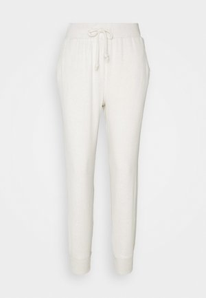 BRUSHED JOGGER - Tracksuit bottoms - oatmeal