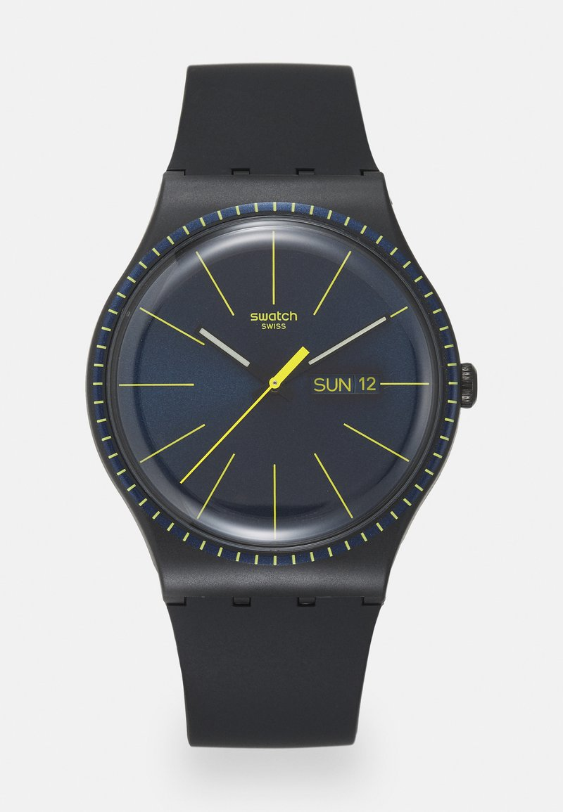 Swatch - BLACK RAILS - Reloj - black