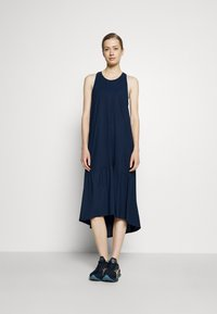 Sweaty Betty - ACE MIDI SMOCK DRESS - Sports dress - navy blue - 0