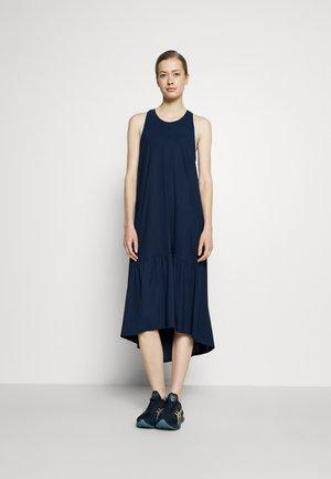 ACE MIDI SMOCK DRESS - Sports dress - navy blue