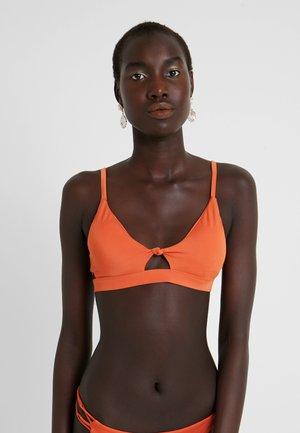 SOLID - Bikini top - amber