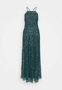 Maya Deluxe - ALL OVER EMBELLISHED CAMI DRESS - Occasion wear - deep teal - 4