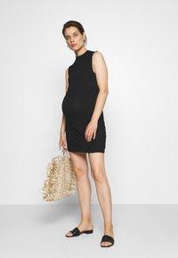 Anna Field MAMA - Shift dress - black - 1