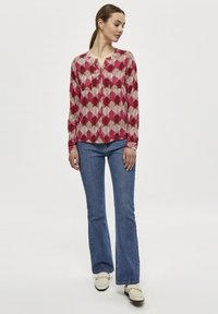 PEPPERCORN - Blouse - maroon red - 1