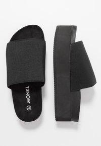 Monki - NORMA  - Heeled mules - black - 4