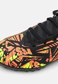 adidas Performance - NEMEZIZ MESSI .4 TF UNISEX - Astro turf trainers - solar red/solar yellow/core black - 5