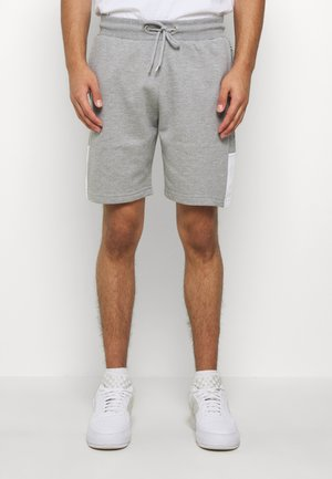 SCRIPT SIDE PANELLED  - Tracksuit bottoms - grey