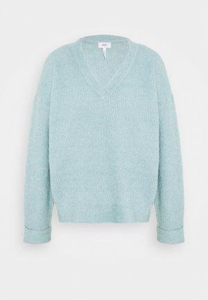 OBJMINDRA  - Sweter - stone blue