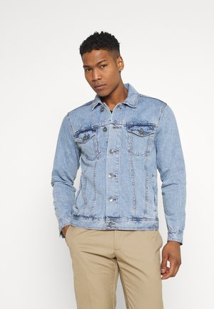 MARC JACKET - Kurtka jeansowa - light blue
