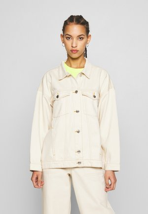 CATHY JACKET - Jeansjakke - white light