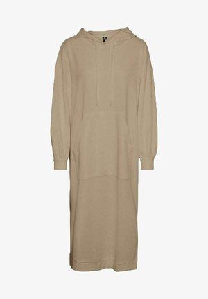 Day dress - beige mottled beige