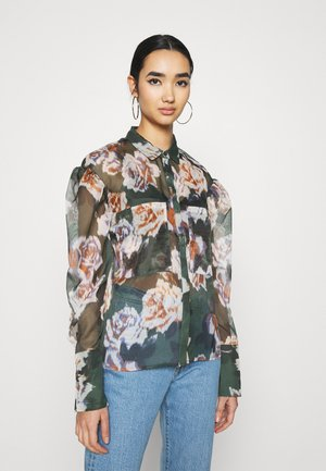 WARREN EXCLUSIVE - Button-down blouse - green