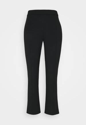 PONTE FLARE PANT - Trousers - black