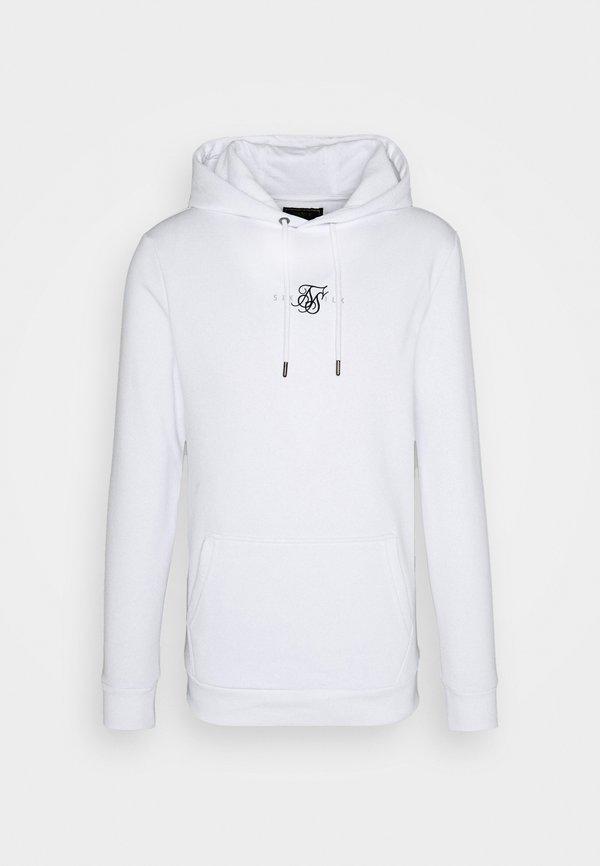 SIKSILK CORE HOOD - Bluza - white/biały Odzież Męska LVNC