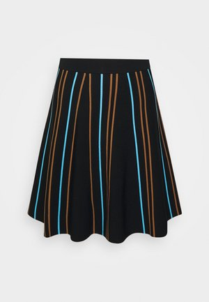 NULILLI PILLY SKIRT - Pleated skirt - caviar