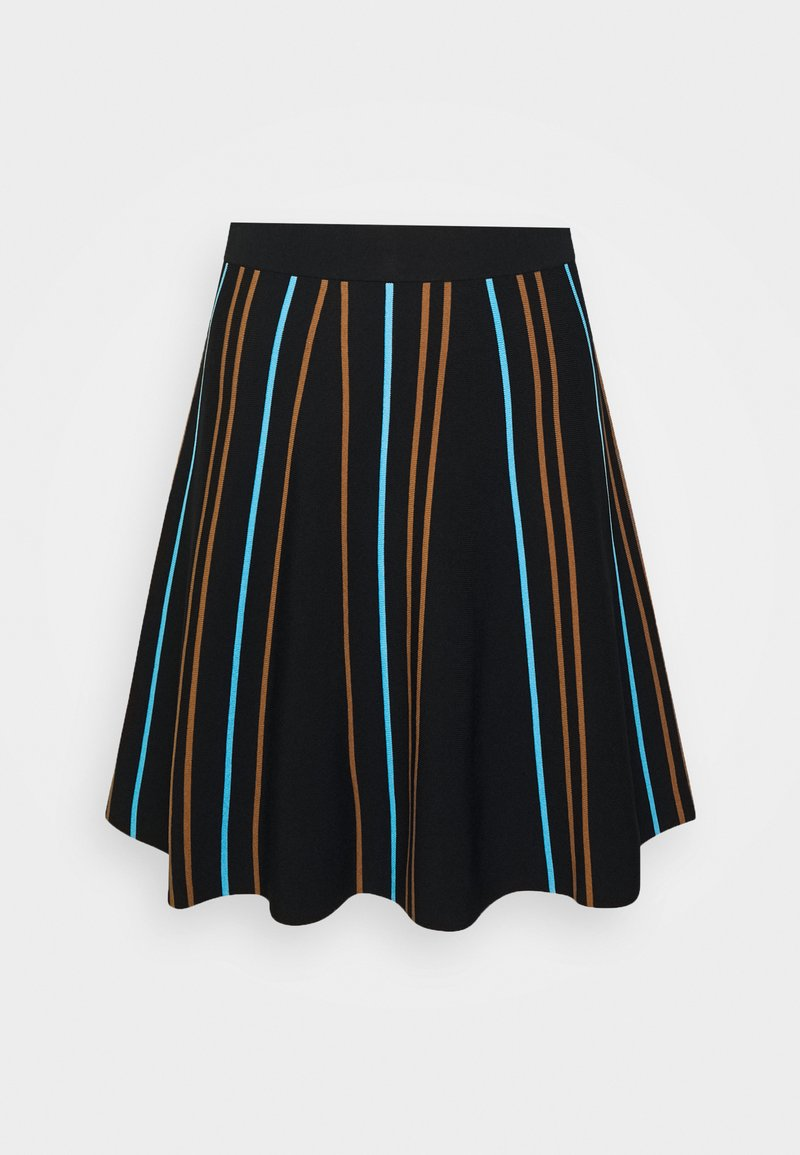 Nümph - NULILLI PILLY SKIRT - Plisséskjørt - caviar