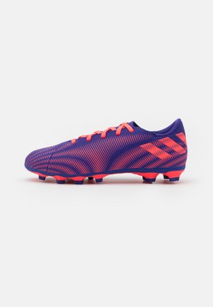 NEMEZIZ.4 FXG UNISEX - Moulded stud football boots - energy ink/signal pink/signal green