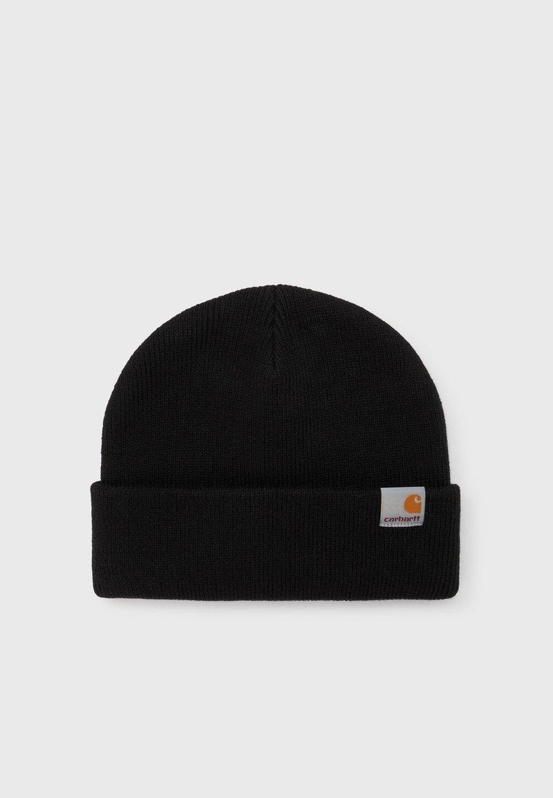 Carhartt WIP - STRATUS HAT LOW UNISEX - Čepice - black