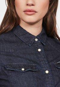 G-Star - 3301 SHIRT - Button-down blouse - blue denim - 3