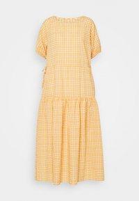 YAS - YASSTURI ANKLE DRESS - Day dress - tan - 3