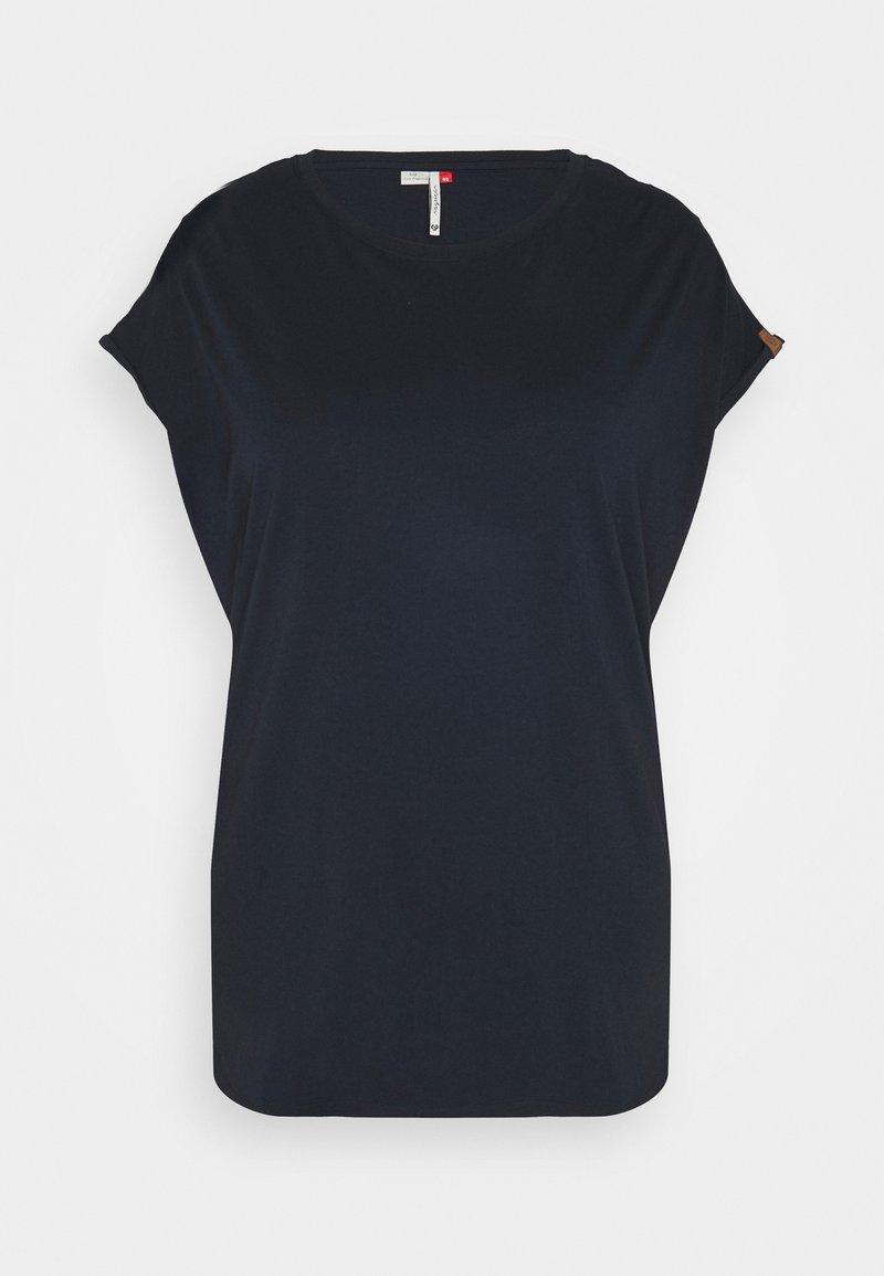 Ragwear Plus - DIONE - Basic T-shirt - navy