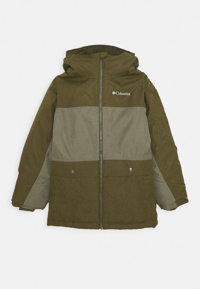 PORTEAU COVE JACKET - Veste d'hiver - new olive heather/stone green heather