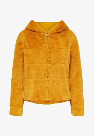 ONLCHRIS HOODED JACKET - Winter jacket - golden yellow