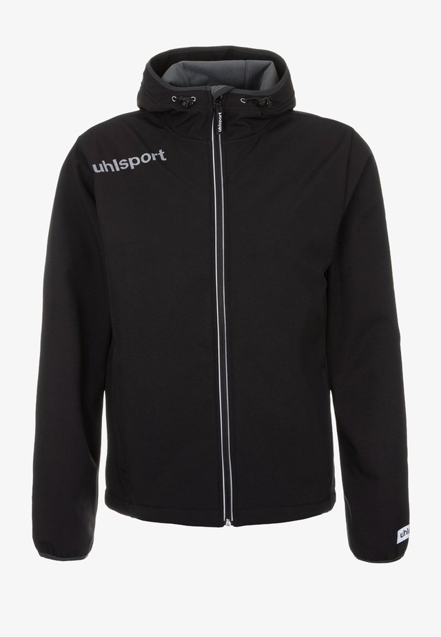 ESSENTIAL  - Soft shell jacket - black