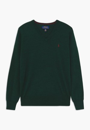 Jersey de punto - forest green heather