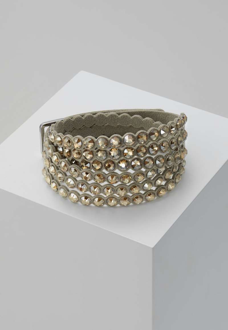 Swarovski - POWER BRACELET SLAKE - Bransoletka - golden shadow