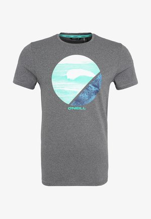 FRAMED - Print T-shirt - grau