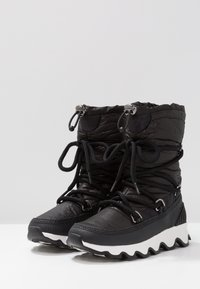 Sorel - KINETIC - Winter boots - black/white - 4