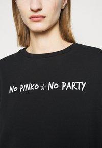 Pinko - ALGEBRA MAGLIA - Sweatshirt - black - 4