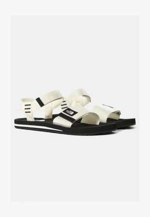 M SKEENA SANDAL - Walking sandals - vintage white tnf black