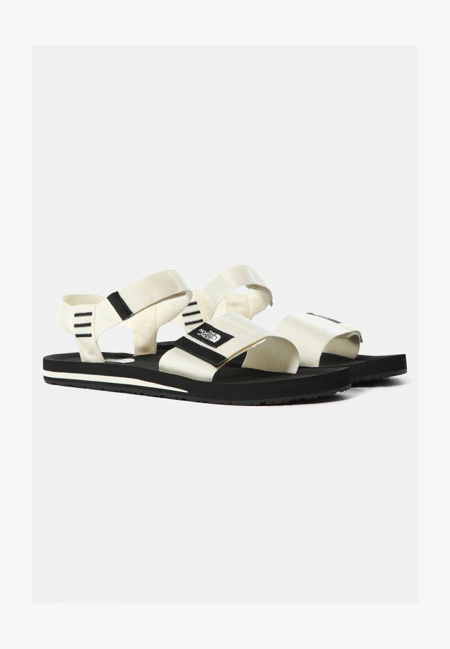 M SKEENA SANDAL - Sandalias de senderismo - vintage white tnf black