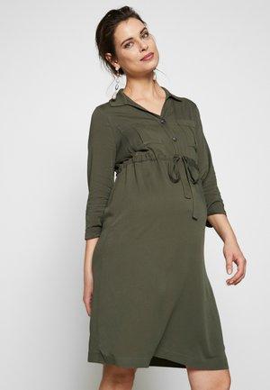 ISOTTA - Shirt dress - dark sage