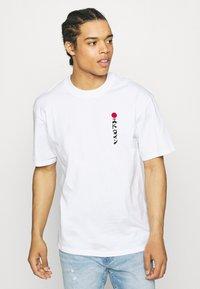 Edwin - KAMIFUJI UNISEX - Print T-shirt - white - 0