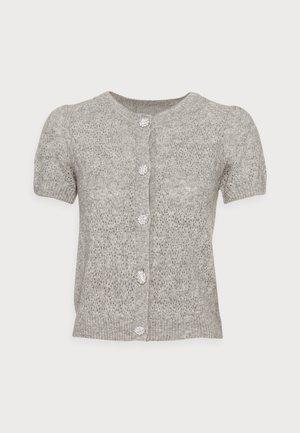 Cardigan - light grey melange