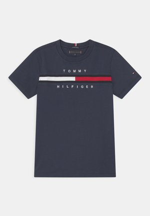 FLAG INSERT - T-shirts med print - twilight navy