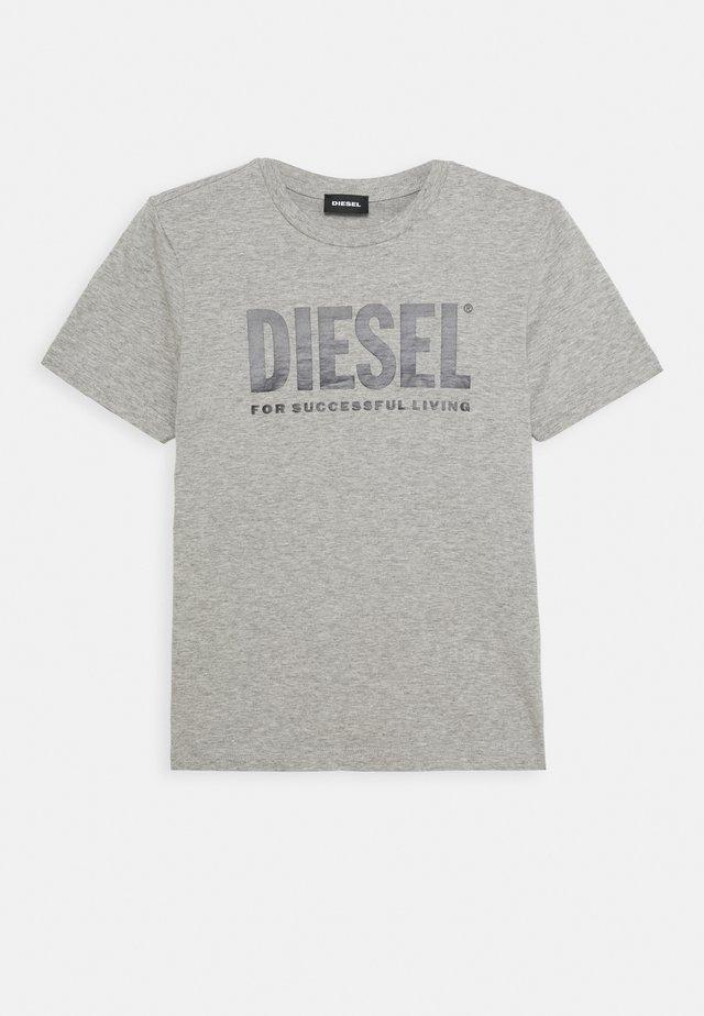 LOGO MAGLIETTA UNISEX - T-shirt print - grigio melange nuovo