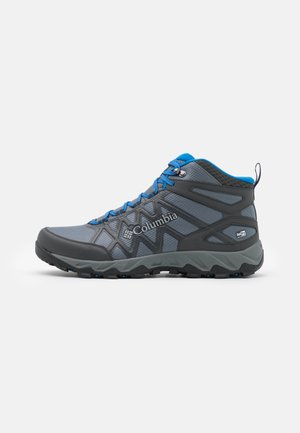 PEAKFREAK X2 MID OUTDRY - Hiking shoes - graphite/blue jay
