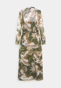 HUGO - ELEKTRA - Shirt dress - olive - 9