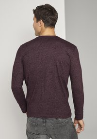 TOM TAILOR - Long sleeved top - dusty wildberry red - 2