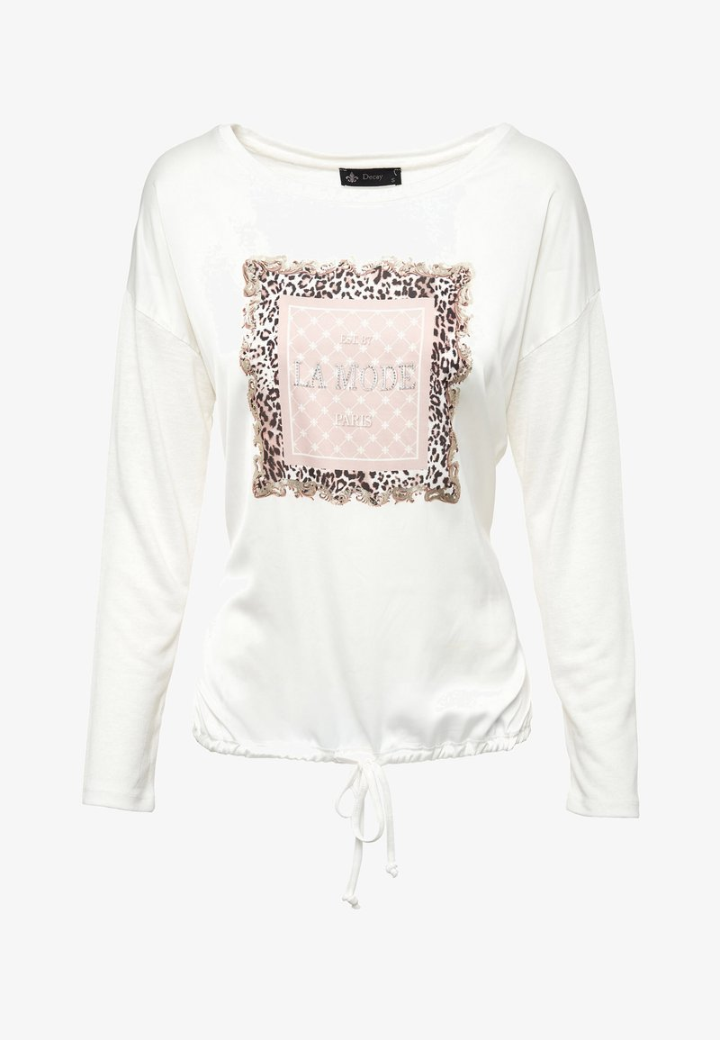 Decay - Long sleeved top - weiß